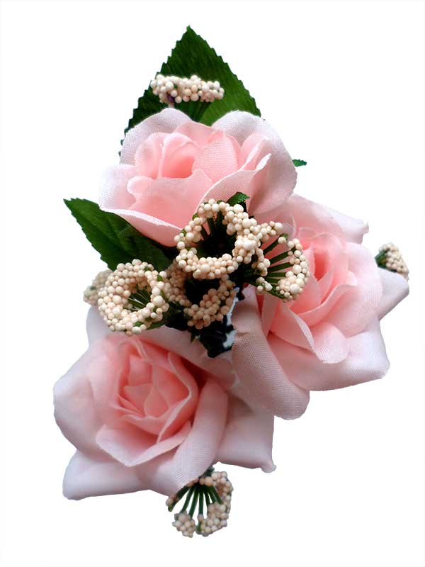 Bouquet of Flamenco Flowers for Girls. Pink Caracola
