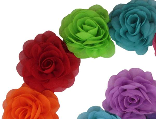 Made in China Flamenco Flowers