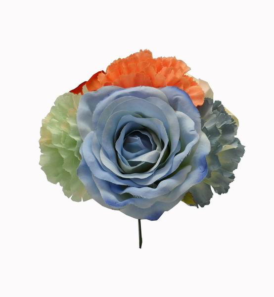 Flamenca Bouquet Orange and Blue Tones