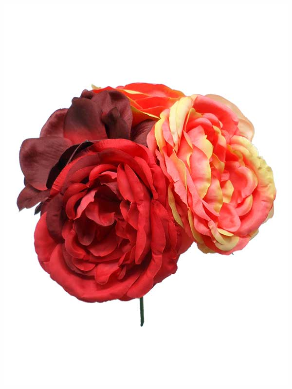 Handcrafted Bouquet of Flamenco Flowers