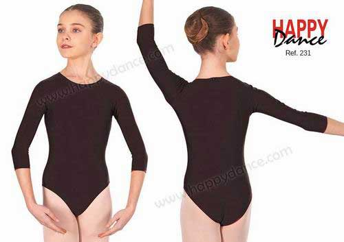 Girls´ Leotards. Zip