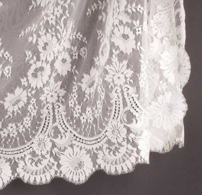 White Spanish Shawls
