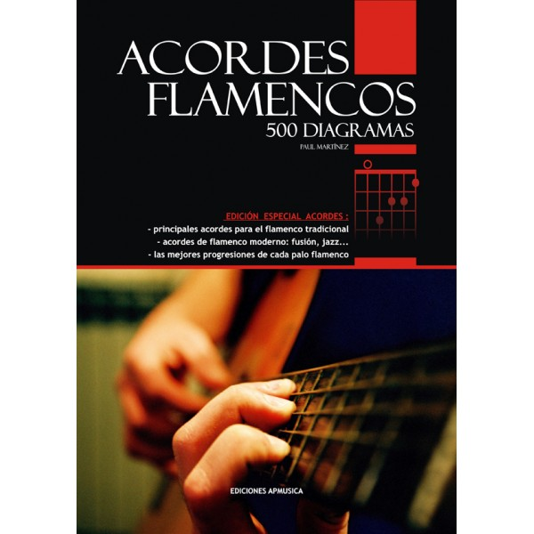 500 accords de flamenco. Diagrammes et progressions. Paul Martinez.
