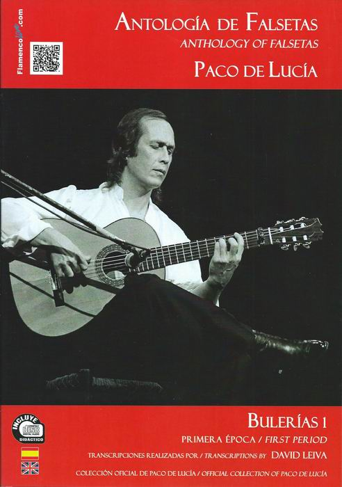 Anthology of Falsetas of Paco de Lucía. David Leiva