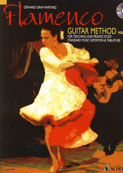 Méthode de guitare flamenco Vol.1 par Gerhard Graf - Martinez