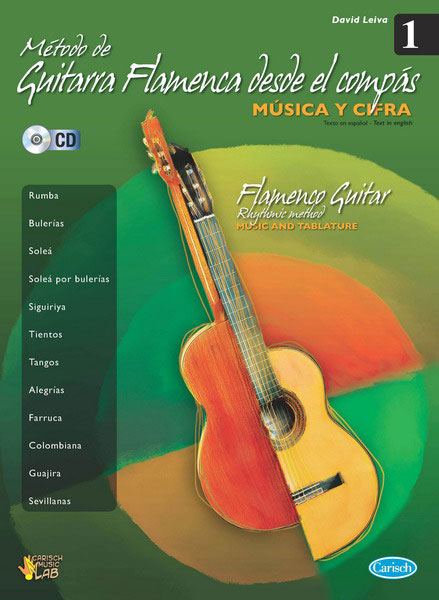 Flamenco guitar method form the compas vol.1 David Leiva