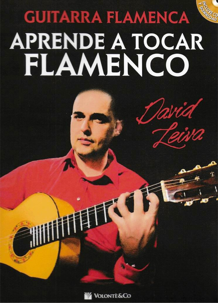 教材/CD  Aprende a tocar Flamenco. David Leiva. (楽譜)