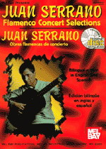 Juan Serrano - Flamenco works in concert - Score book + CD