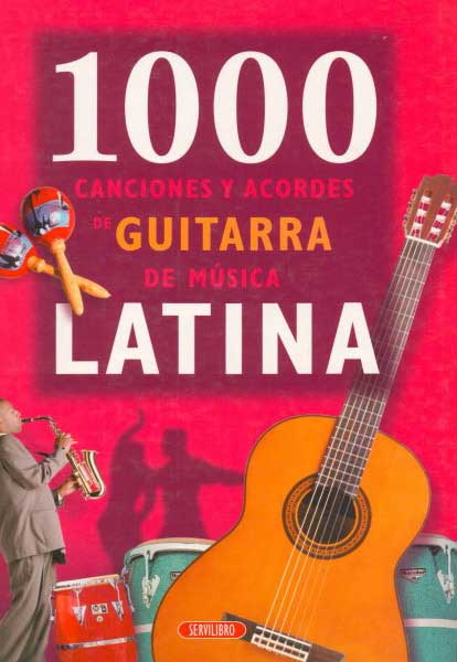 1000 songs and music latin chords for guitar