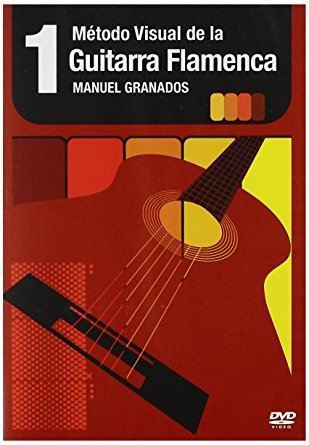 DVD教材 『Metodo Visual de la Guitarra flamenca』 Manuel Granados Vol.1 - Dvd - Pal