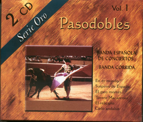 CD 『Pasodobles - Serie Oro - Vol. 1』