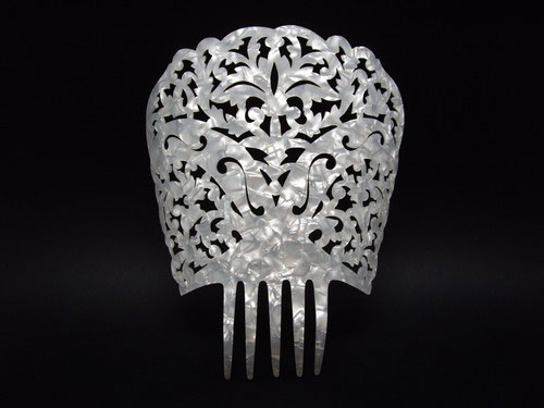Mother of Pearl Comb - ref. 446