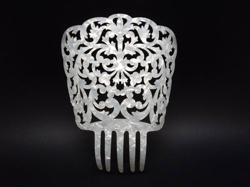 Mother of Pearl Comb - ref. 608
