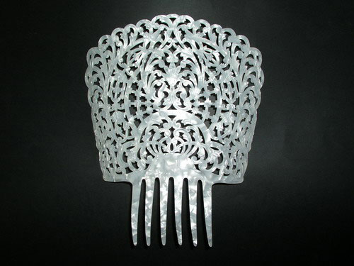Mother of Pearl Comb - ref. 278BIS
