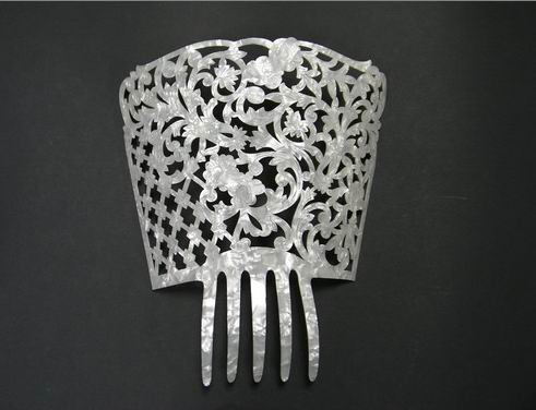 Mother of Pearl Comb - ref. 468