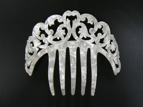 Mother of Pearl Comb - ref. N120