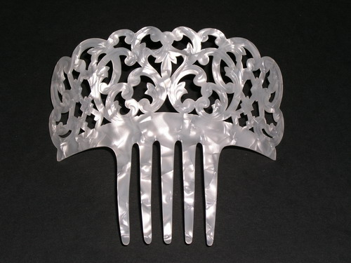 Mother of Pearl Comb - ref. N956