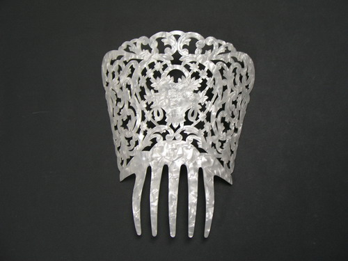 Mother of Pearl Comb - ref. 478