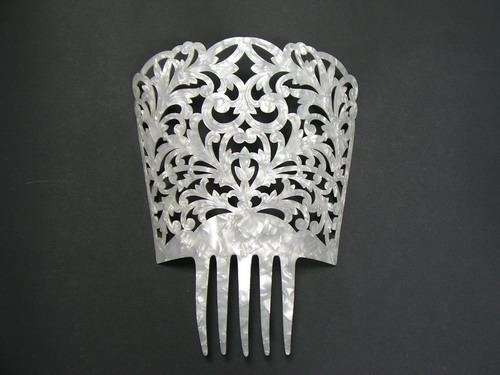 Mother of Pearl Comb - ref. 415