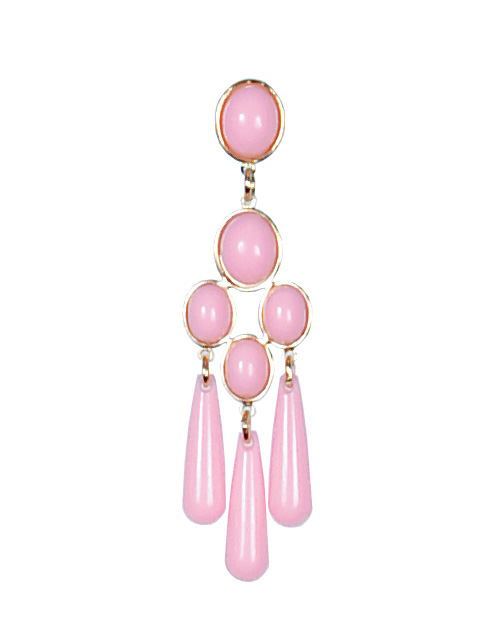 Plastic Flamenco Earrings ref. 2516