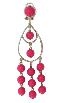 Plastic Flamenco Earrings ref. 2763