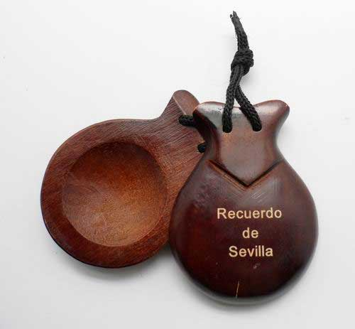 Personalized castanets with laser engraving