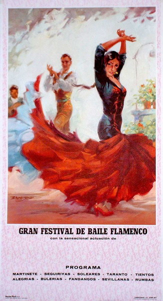 Danseuse Rouge - poster