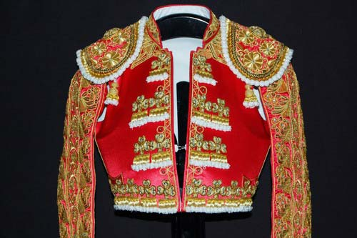 Authentic bullfighter's costume