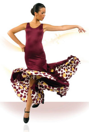 Flamenco dance dress ref.E4078PS47PS145PS47