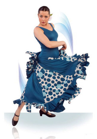 Robe de danse flamenco ref.E4079PS27PS142