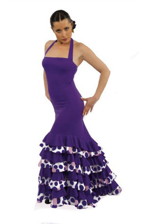 Robe de danse flamenco ref.E4393PS4PS143