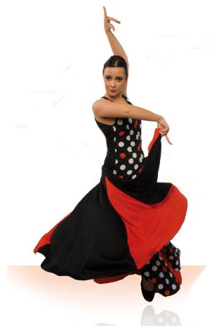 Robe de danse flamenco ref.E4286PS127PS13PS10