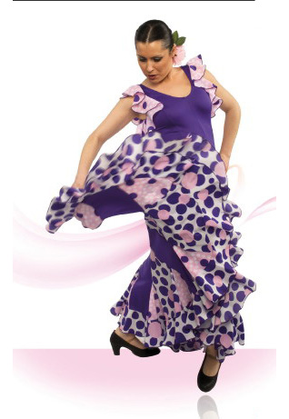 Flamenco danse dress ref.E4502PS4PS143PS156PS143