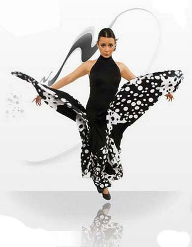 Flamenco dance dress ref. E3796PS13PS82PS83