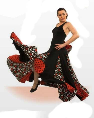 Robe de danse flamenco ref.E4089PS13PS122PS63