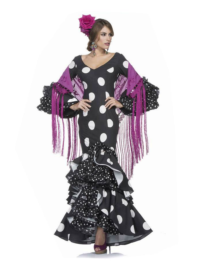 Flamenca Dress Madruga model. 2017-2018