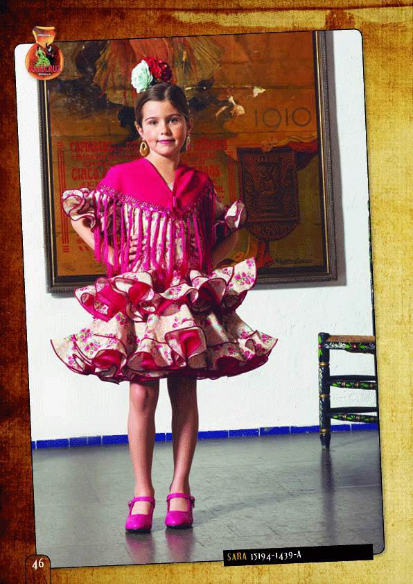Flamenca Outfit for Girl. Model. Sara