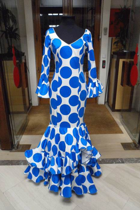 Outlet. Robe de Flamenca Cardamomo T.42