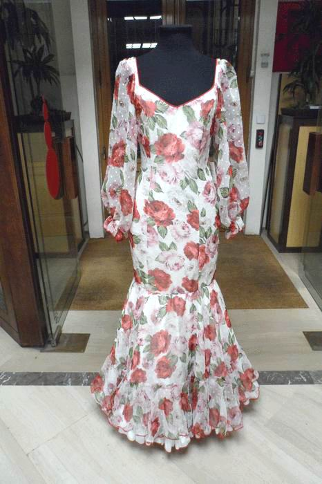 Outlet. Robe de Flamenca Cielo T.40
