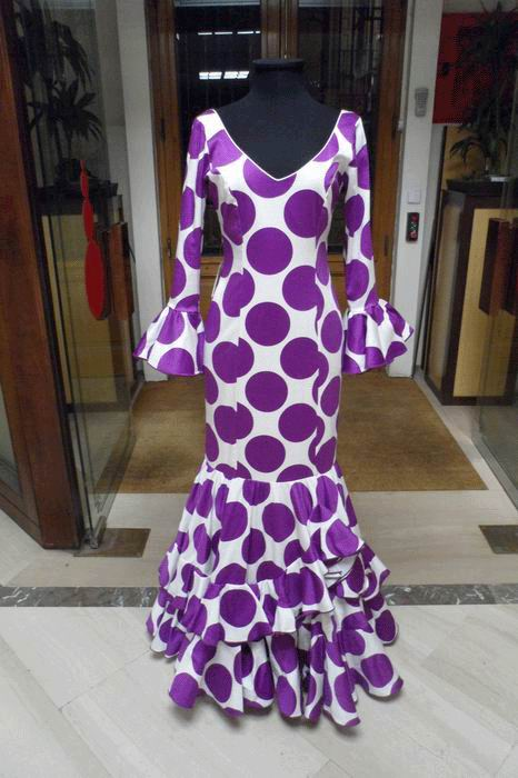 Outlet. Robe de Flamenca Endrina T.42