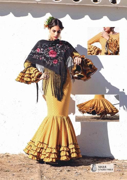 45a4dce8b Trajes de Flamenca colección 2019 Creaciones Mari Cruz - FlamencoExport
