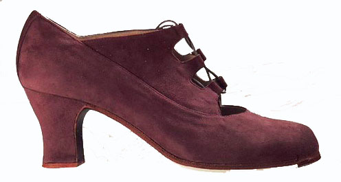 Chaussures de flamenco Begoña Cervera. Antiguo