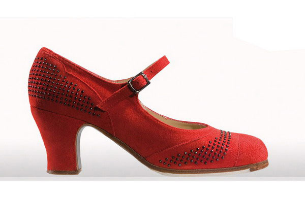 Flamenco Shoes from Begoña Cervera. Flecked