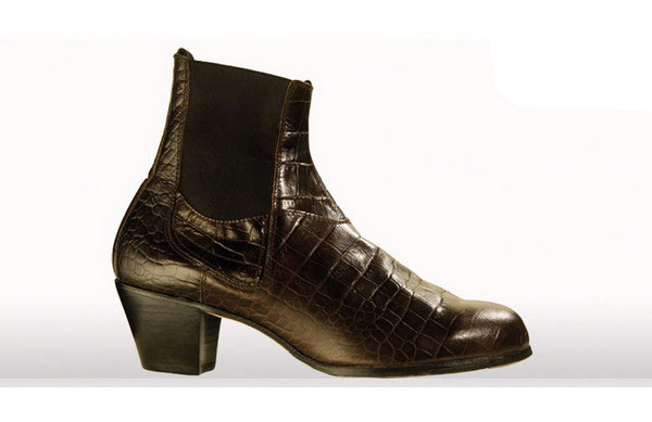 Boots for Man (crocodile appearance). Model Boto II. Begoña Cervera