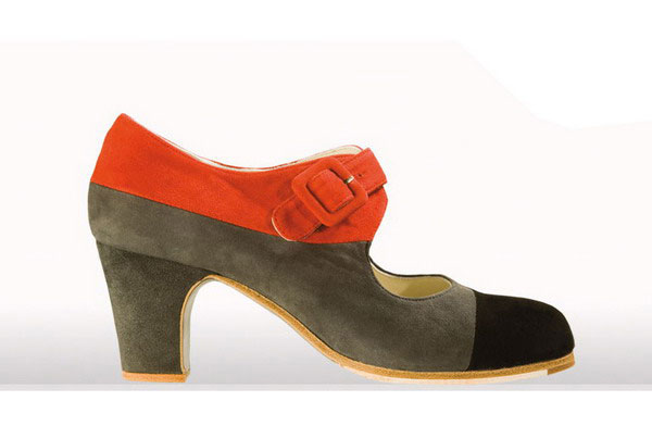 Flamenco Shoes From Begoña Cervera. Tricolor II