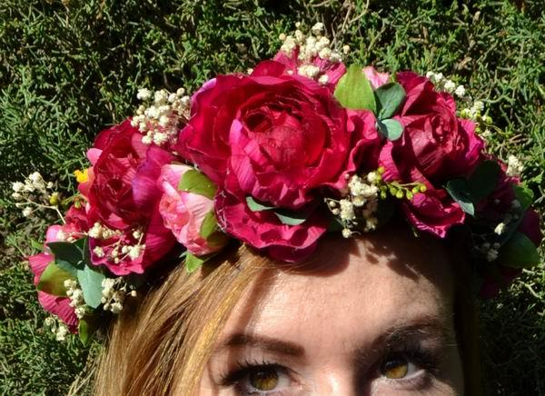 Diadem and Crown with Flowers