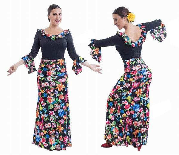 Conjuntos de flamenco para Adulto. Happy Dance.Ref. EF129-3098S