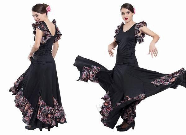 Conjuntos de flamenco para Adulto. Happy Dance. EF150-E4559