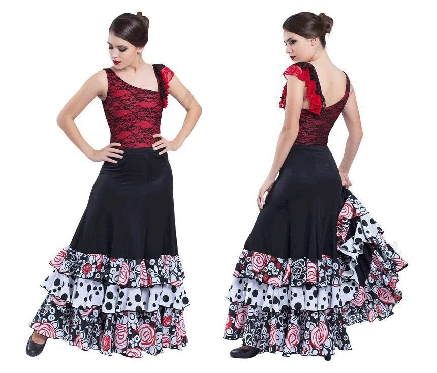 Conjuntos de flamenco para Adulto. Happy Dance. Ref. EF189-3066S