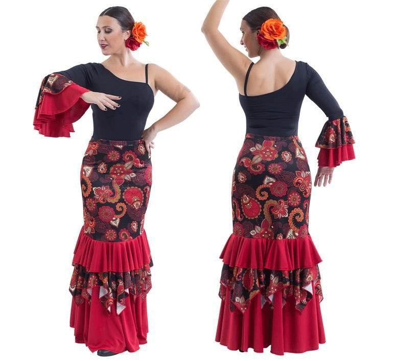 Conjuntos de flamenco para Adulto. Happy Dance. Ref. EF195-3099S